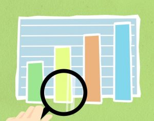 come gestire liquidità aziendale grafico con mano